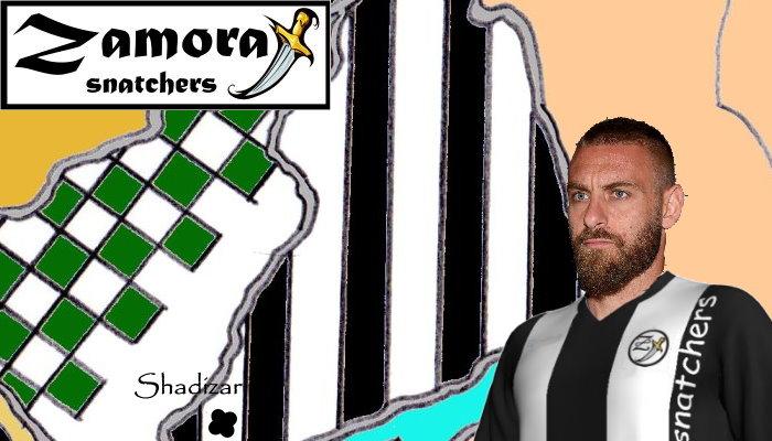De Rossi sullo sfondi di Zamora