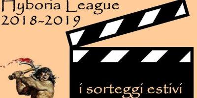 I sorteggi estivi 2018-2019 dell'Hyboria League