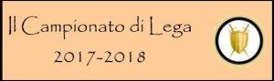 Pulsante campionato 2017-2018