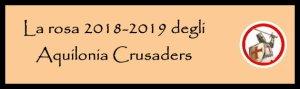 Aquilonia rosa 2018-2019