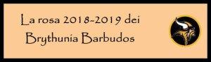 Brythunia rosa 2018-2019