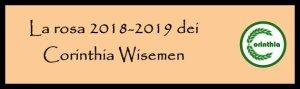 Corinthia rosa 2018-2019