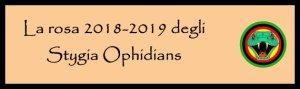 Stygia rosa 2018-2019