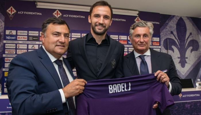 Badelj presentazione alla Fiorentina