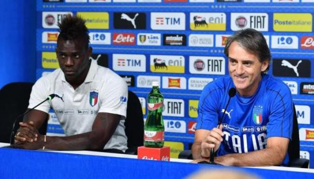 Balotelli e Mancini