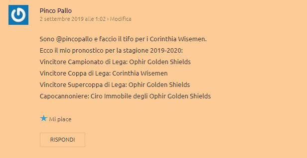 Pronostico 2019-2020