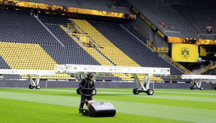 Preparazione dello stadio