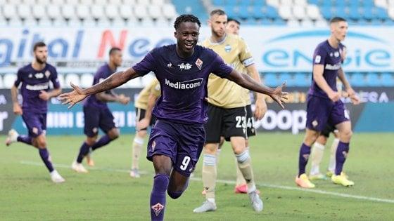 Kouamè in gol contro la Spal
