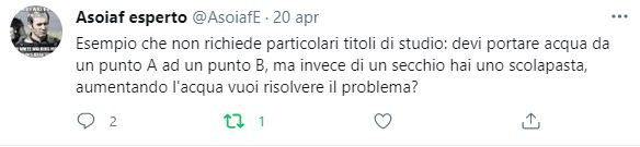 Twit di AsoiafE