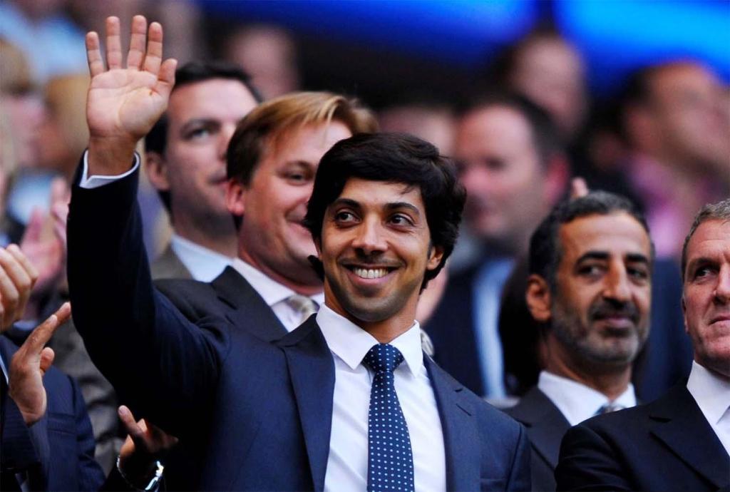 Lo sceicco Mansur, proprietario del Manchester City